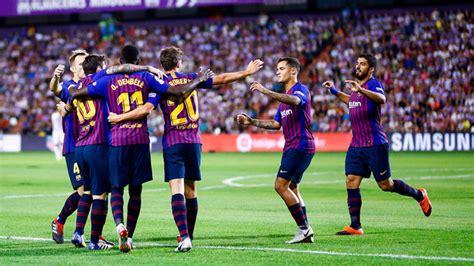 Valladolid vs Barcelona: Resumen, resultado y goles ...