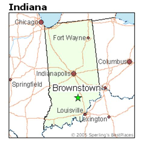 places    brownstown indiana