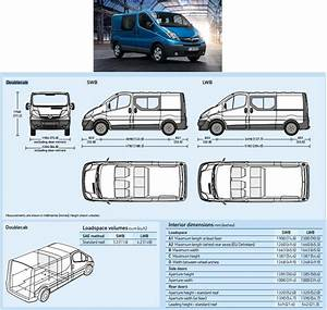 Dimension Opel Vivaro : recommended innolift model for opel vivaro van ~ Gottalentnigeria.com Avis de Voitures