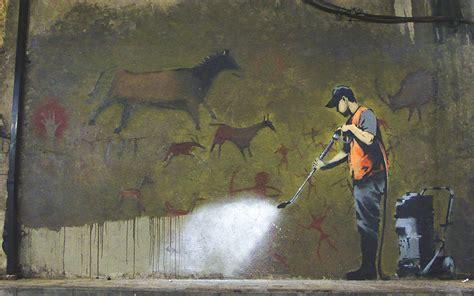 Famous Banksy Street Art