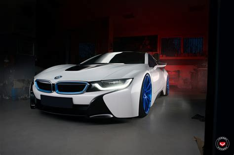 Vossen Wheels Give A Bmw I8 A New Look