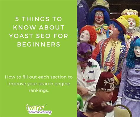 seo for beginners 5 things to about yoast seo for beginners