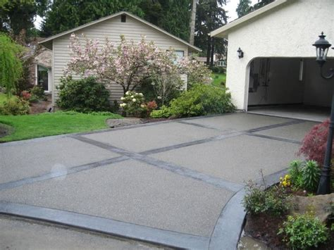 best 20 concrete driveways ideas on sted