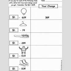Making Change  Worksheets Enchantedlearningcom