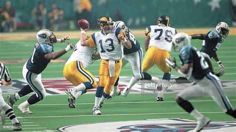 Super Bowl Xxxiv St Louis Rams Qb Kurt Warner In Action