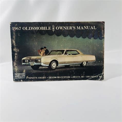 old cars and repair manuals free 1999 oldsmobile alero user handbook vintage oldsmobile 1967 car owners manual for the delta 88 custom del reading vintage