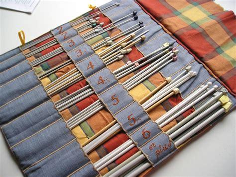 rangement aiguilles a tricoter trousse porte aiguilles 224 tricoter l int 233 rieur couture porte aiguilles tricoter