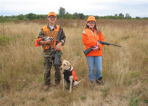 sign     youth pheasant hunts  september