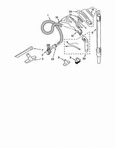 Kenmore Model 11629912990 Vacuum  Canister Genuine Parts