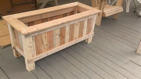 wood pallet planter  diy ideas patterns hub