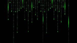 Matrix green binary code background - Adobe Illustrator ...