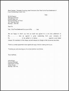 Sample Letter Of Payment Agreement 6 Full And Final Settlement Letter Template