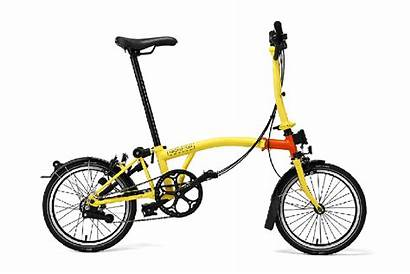 Brompton Line Friends Bike Sally Bicycle Orange