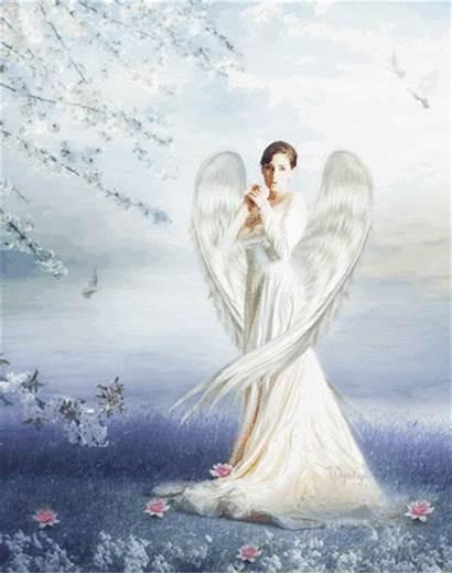 Angel Angels Among Heaven Throne Powerful Background