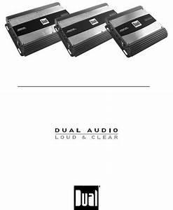 Dual Xpa2100  Xpa4100  Xpa6100 User Manual