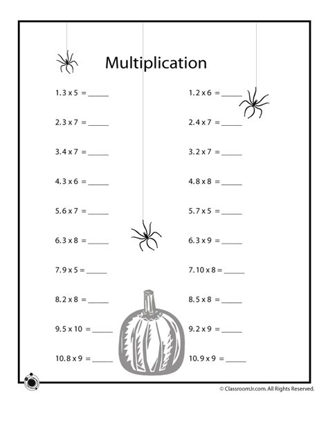 halloween math worksheets halloween math worksheets
