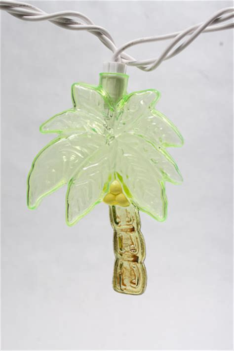 10 ct electric palm tree lights string lights