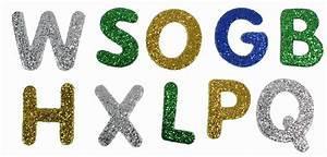 Buchstaben Zum Aufkleben : glitter buchstaben aus moosgummi selbstklebend 50 st ck ~ Watch28wear.com Haus und Dekorationen