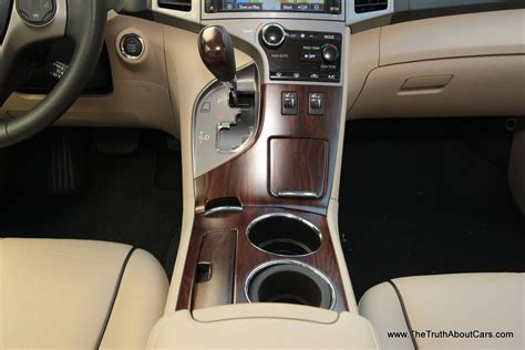 toyota venza limited interior rear seat