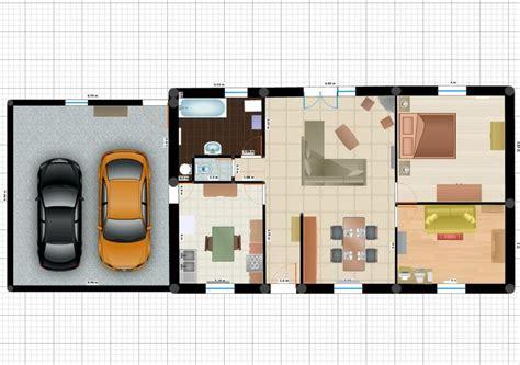 plan maison 3 chambres plain pied garage plan maison plein pied 100m2 plan de maison plan maison t