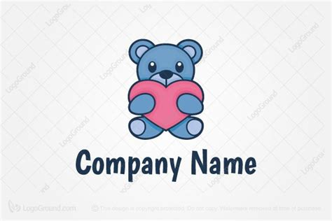 Baby Bear Mascot Logo