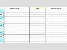 Monthly Menu Calendar Template Excel Day Planner Daily
