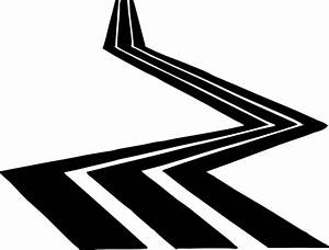 Road Clip Art In Black And White | Clipart Panda - Free ...