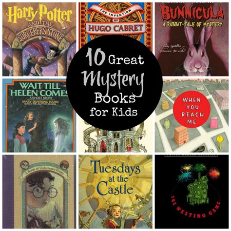 10 Great Mystery Books For Kids  Crazy Little Projects