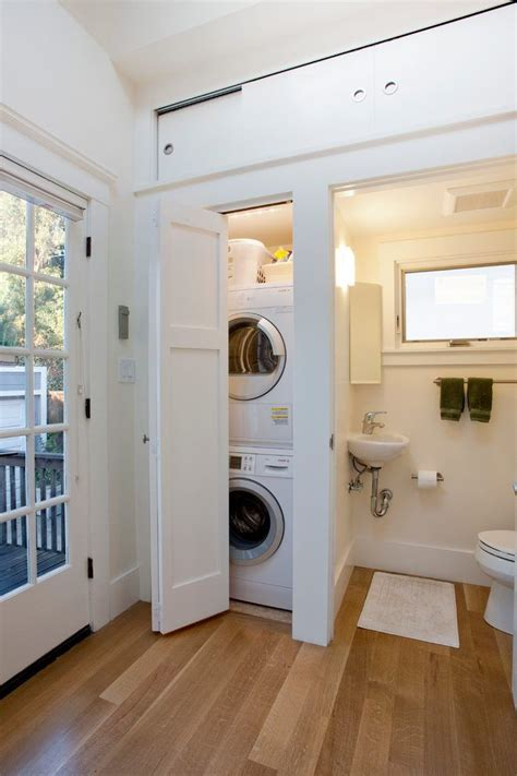 bathroom laundry combo room traditional  white energy