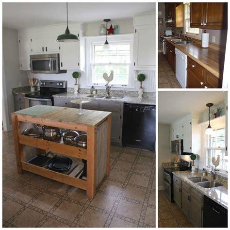 farmhouse kitchen cabinets diy hometalk diy farmhouse kitchen makeover for 5000