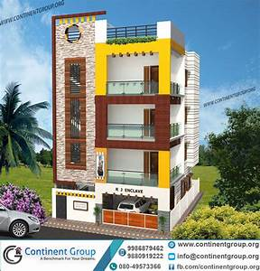 House, Front, Valuation, Design, India, U2013, Modern, House