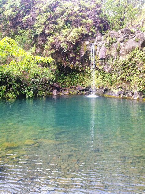 Give yourself 6+ hours, better yet a full day, so you can enjoy the views, make frequent stops, maybe swim in hana, and probably have lunch somewhere. Waterfall on the road to Hana. Maui, Hawaii | Road to hana ...