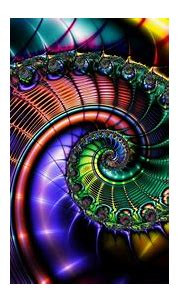 Colorful Fractal Design HD Abstract Wallpapers | HD ...