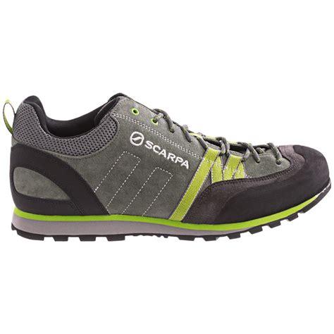 light hiking shoes scarpa crux light hiking shoes for 8227f save 26