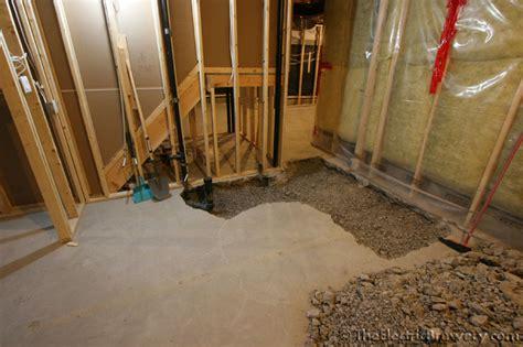drain tile basement system new basement ideas