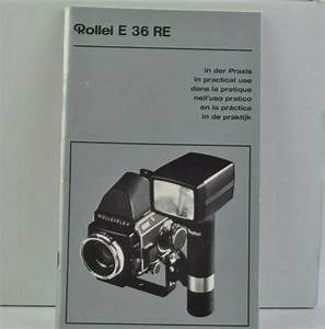 Rollei E 36 Re Camera Instruction Manual User Guide Vgc