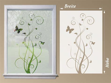 Fenster Sichtschutzfolie Blumen by Fensterfolie Blume