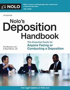 Nolo U0026 39 S Deposition Handbook  Ebook