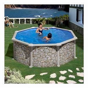 Sable Piscine Hors Sol : piscine hors sol corcega gre diam 350 cm h132 filtre sable ~ Farleysfitness.com Idées de Décoration