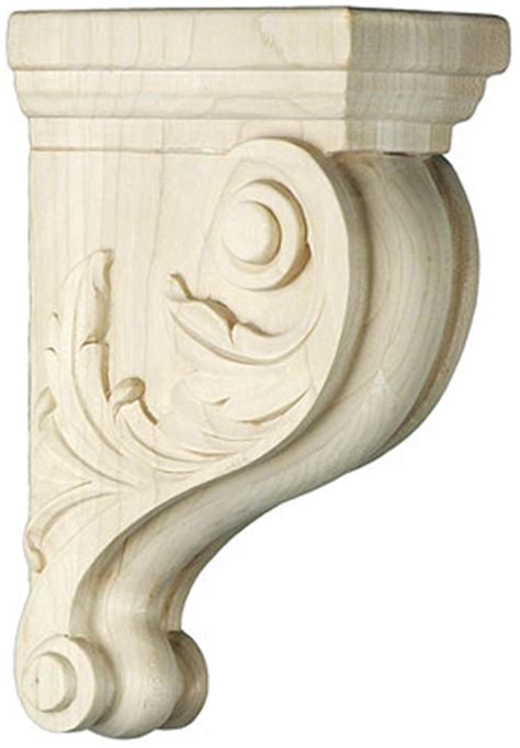 Corbel Patterns by Leaf Pattern Maple Corbel In 3 Sizes House Of Antique