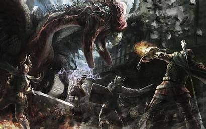 Medieval Desktop Fantasy Wallpapers Backgrounds Dragons Artwork