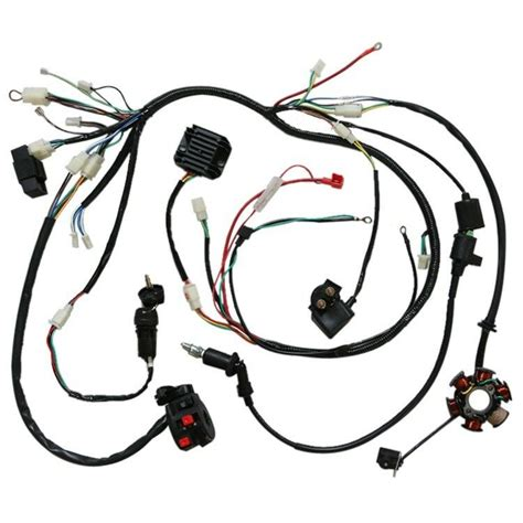 Baja 150 Gy6 Wiring by Gy6 150cc Electrics Stator Wire Loom Magneto Coil Cdi