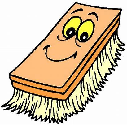 Cleaning Clipart Clip Scrubber Cartoon Limpieza Para