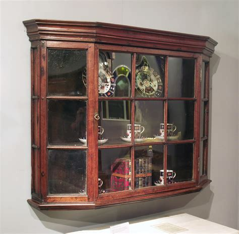 Hanging Wall Cupboards by Antique Wall Hanging Cabinet Glazed Wall Hanging