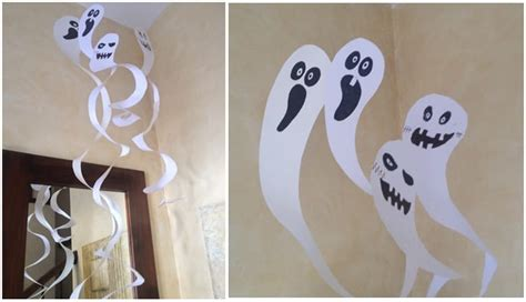Fantasmas de papel para Halloween
