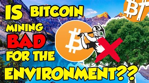 You may have noticed that most of the 'doomsday' articles were based on the results of an analysis provided by alex de vries, a 'financial economist and blockchain specialist' working for pwc. Is Bitcoin mining BAD for the environment? Bitcoin mining analysis and bitcoin consumption # ...