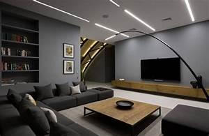 Holz Farbe Anthrazit : anthrazit farbe in moderner dachgeschosswohnung ~ Orissabook.com Haus und Dekorationen
