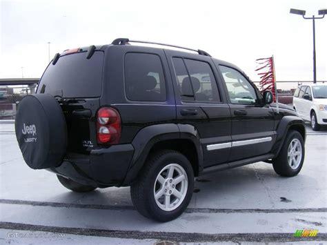 black jeep liberty 2007 black clearcoat jeep liberty limited 4x4 25415204