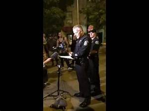 APD media briefing regarding two early morning downtown ...