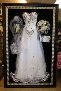 20 best images about framed wedding dress on pinterest With wedding dress frame